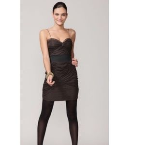 NEW Foley + Corinna Ruched Celeb Dress